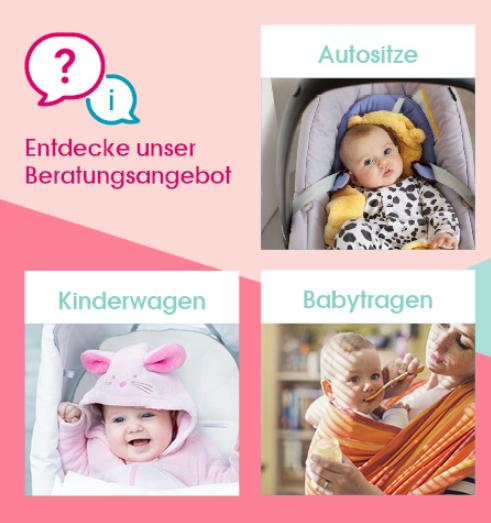 Mit Gutscheinen von babymarkt shoppen und sparen.