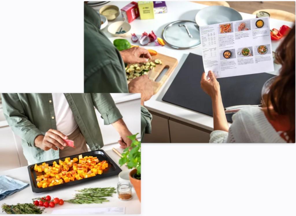 Kochen mit Freunden mit den Hello Fresh Gutscheinen